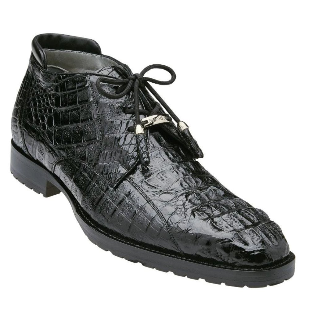 Belvedere Gaylord Hornback Crocodile Ankle Boot - Dapperfam.com