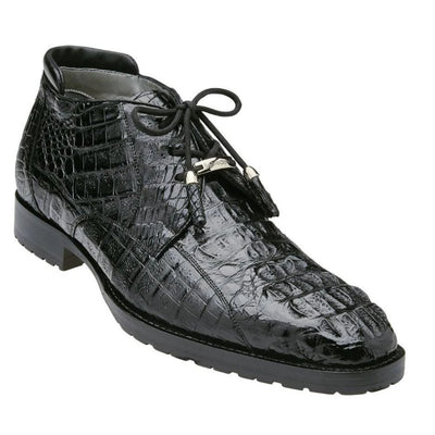 Belvedere Gaylord Hornback Crocodile Ankle Boot