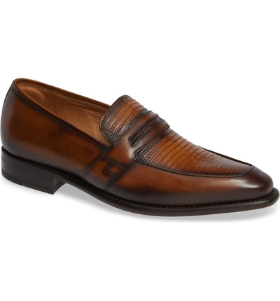 Mezlan  Platinum Collection Hess Loafer Shoes - Dapperfam.com