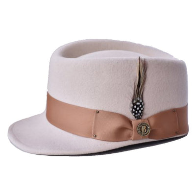Legionnaire Two-Tone Wool Cap Hat - Dapperfam.com