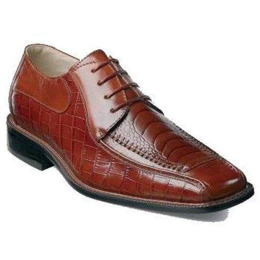 Santino Moc Toe Oxford Shoes - Dapperfam.com