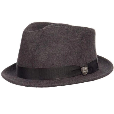 Dobbs Shorty Stingy Brim Fedora - Gray Hat - Dapperfam.com