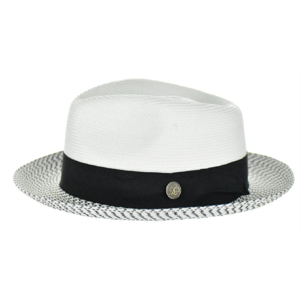 Steven Land Bel-Air Straw Fedora