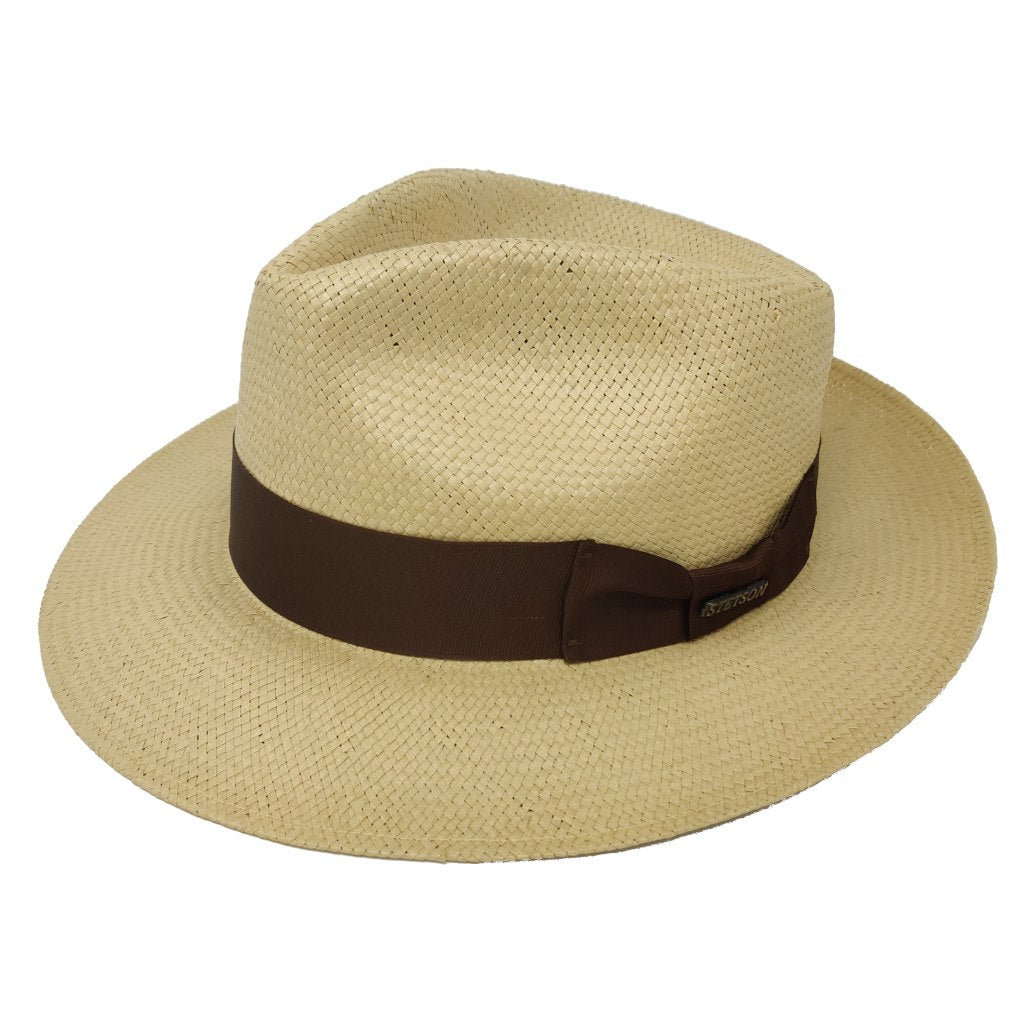 Adventurer Shantung Straw Hat - Dapperfam.com