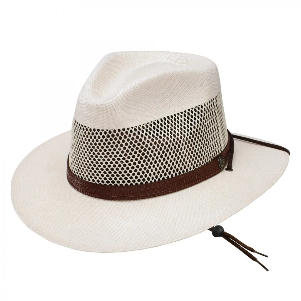 Stetson Afton Vented Canvas Hat General - Dapperfam.com