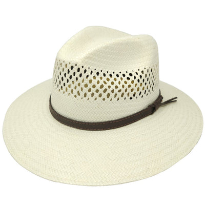 Digger Shantung Straw Outback Hat Hat - Dapperfam.com