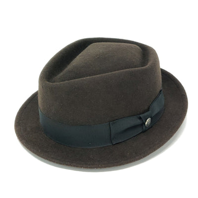 Honey Badger Wool Felt Trilby