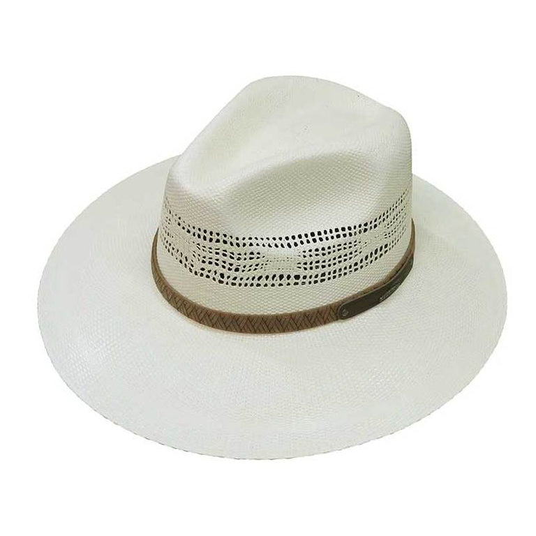 Stetson Wilderness Canyon Straw Hat Hat - Dapperfam.com