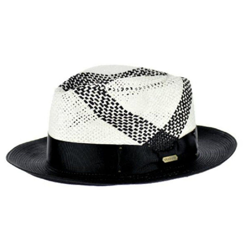 Naples Vented Straw Fedora Hat - Dapperfam.com