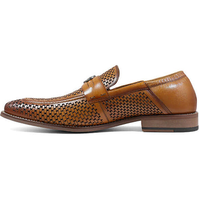 Belmiro Moc Toe Ornament Slip On Shoes - Dapperfam.com