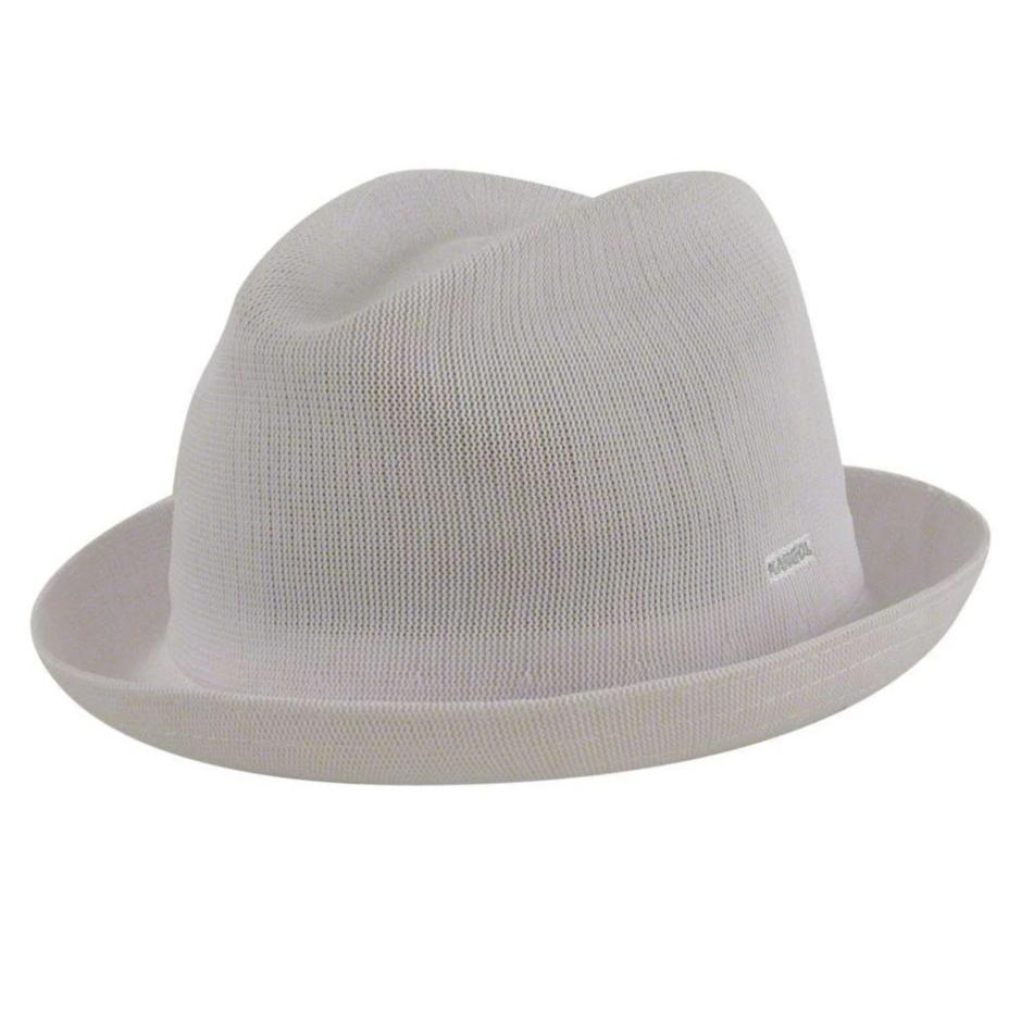Kangol Tropic Player - White Hat - Dapperfam.com