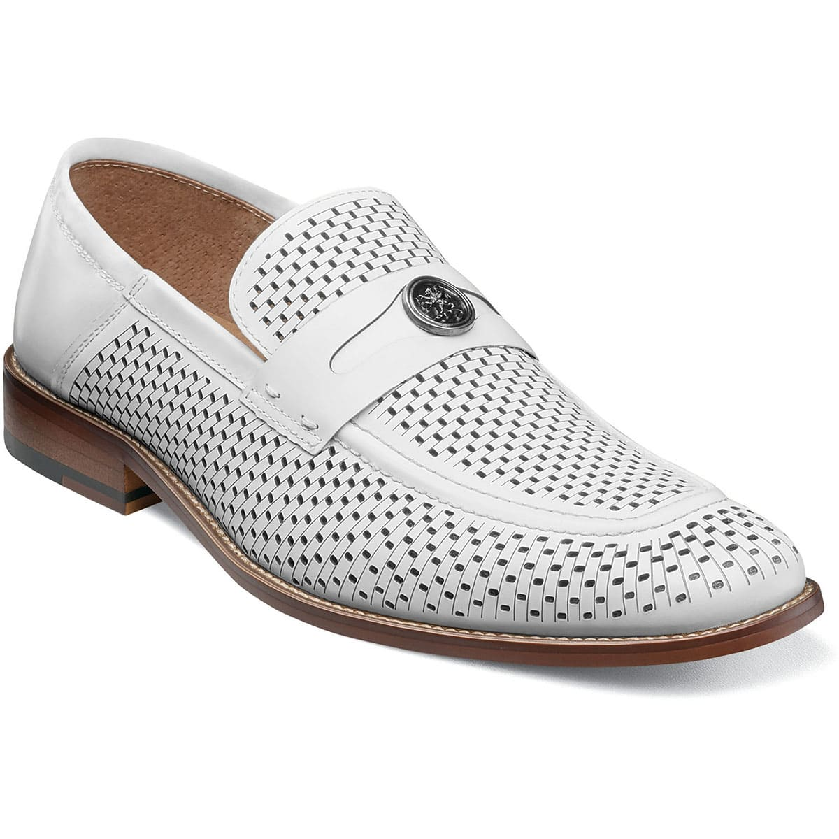 Belmiro Moc Toe Ornament Slip On - Dapperfam.com