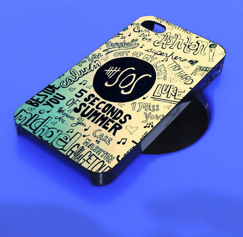 5SOS Unpredictable 5 seconds of summer  iPhone, iPod, and samsung galaxy case