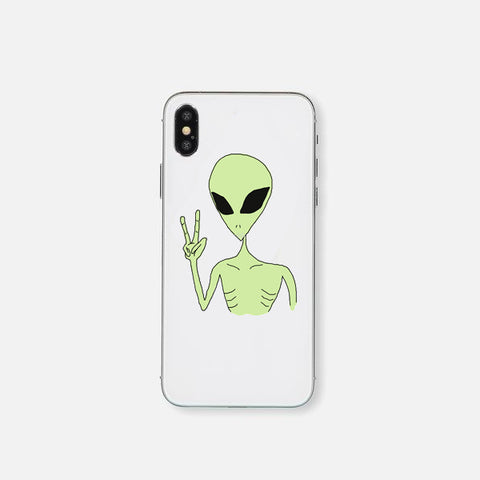 Alien Peace Hand Phone Cover