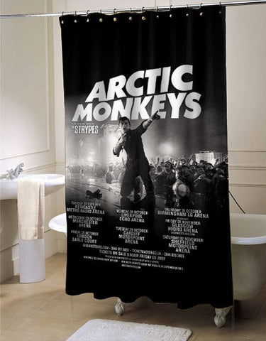 Artic Monkeys Release Album shower curtain customized design for home decor