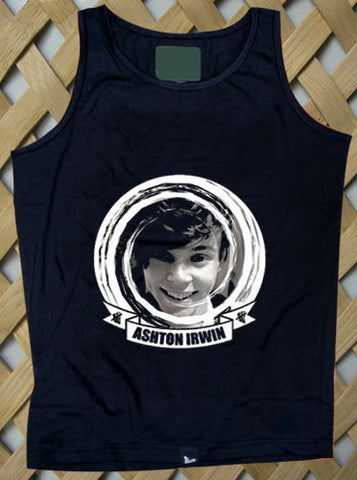 Ashton Irwin 5 Sos Album Cover Tank top