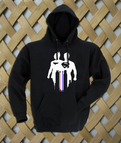 Batman Vs Superman Silhouette Hoodie