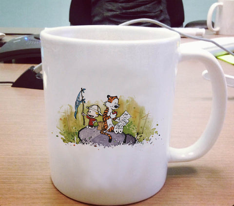 Calvin and Hobbes Ceramic Mug
