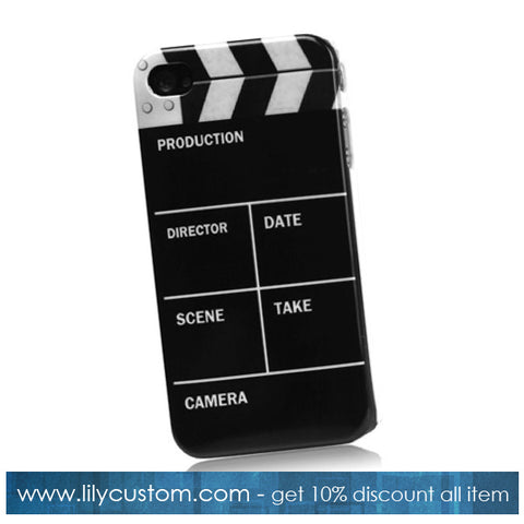 Clapperboard Hard Phone Cover