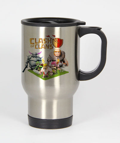 Clash Of Clans Game Travel mug