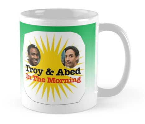 Community Troy and Abed in the Morning Mug (LIM)