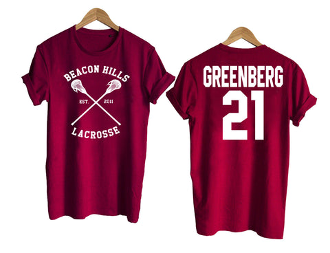 Teen Wolf shirt beacon hills tshirt GREENBERG 21 Tshirt