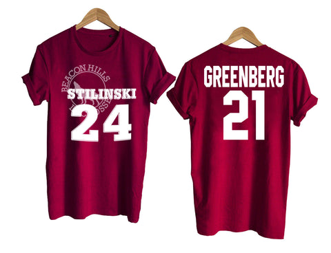 Teen Wolf shirt beacon hills tshirt GREENBERG 21 T shirt
