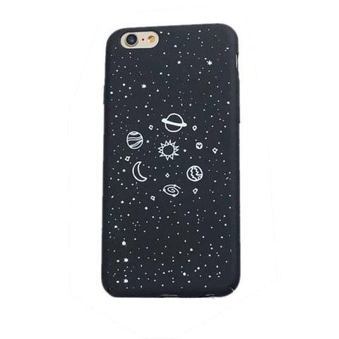 Galaxy Space Matte Phone Cover