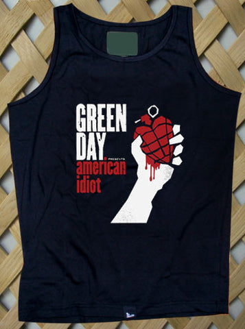 Green day Tank top