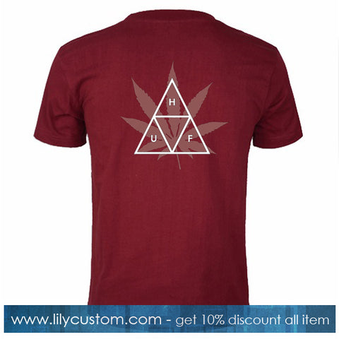 Huf Triple Triangle T Shirt Back
