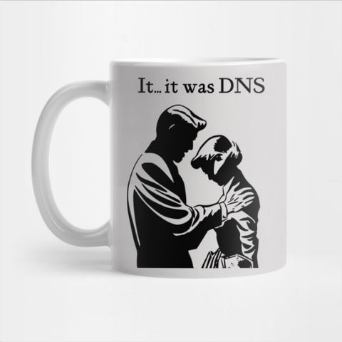 It was DNS (dark design) Mug (LIM)