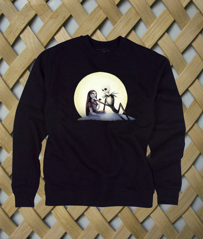 Jack and Sally nightmare before christmas sweatshirt