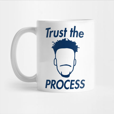 Jimmy Butler 'Trust The Process' - NBA Philadelphia Mug (LIM)