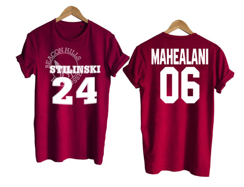 Teen Wolf shirt beacon hills tshirt MAHEALANI 06 T shirt