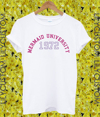 Mermaid University Tshirt