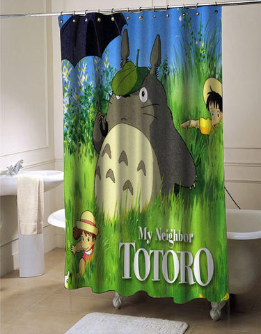 My Neighbor Totoro shower curtain customized design for home decor