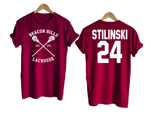 Teen Wolf shirt beacon hills tshirt STILINSKI 24 Tshirt