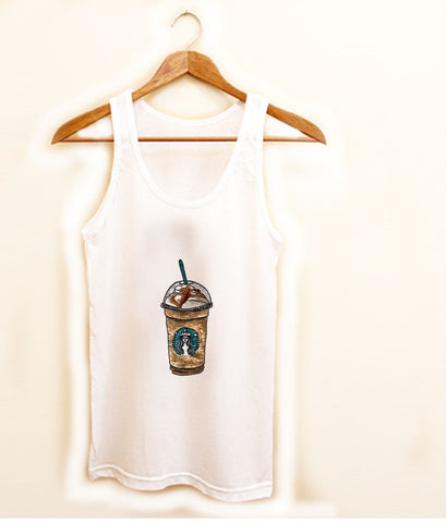 Starbucks coffee latte Tank top