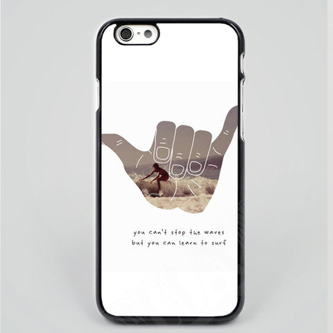 Surf You Cant Stop The Waves Phone Cover