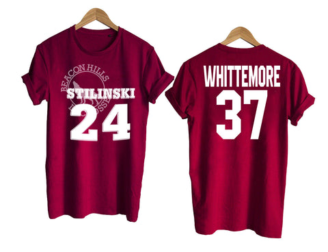 Teen Wolf shirt beacon hills tshirt WHITTEMORE 37 Tshirt