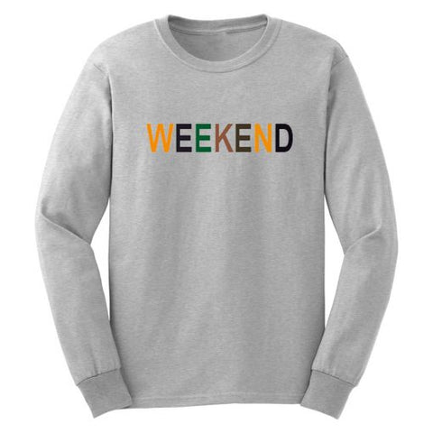Weekend Colour Sweatshirt