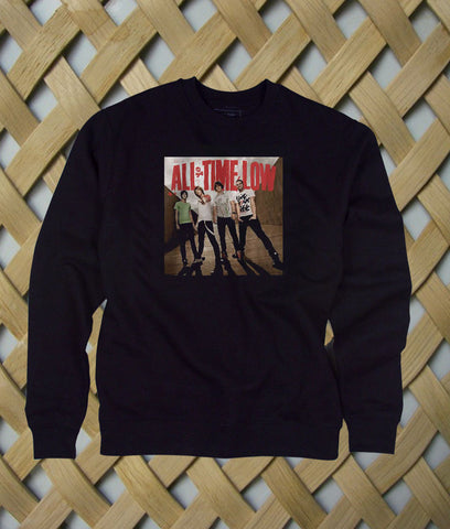 all time low band sweatshirt