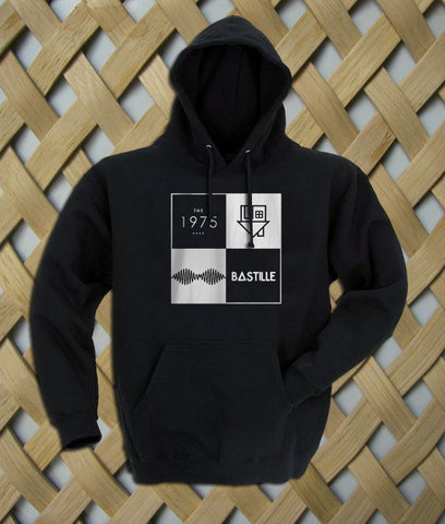 arctic monkeys the 1975 bastille Hoodie