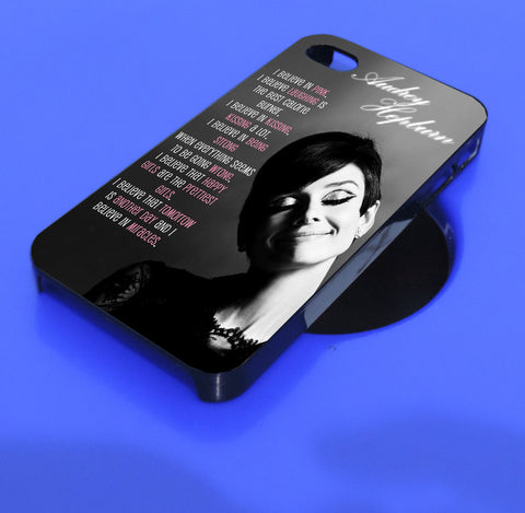 audrey hepburn quote  iPhone, iPod, and samsung galaxy case