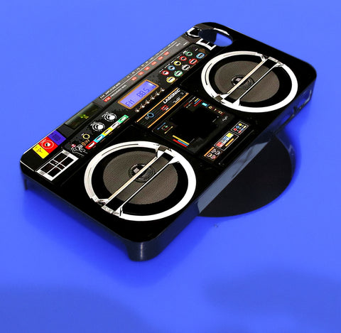 Boombox ghetto blaster_5 iPhone, iPod, and samsung galaxy case