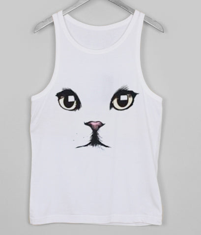 cat face tanktop