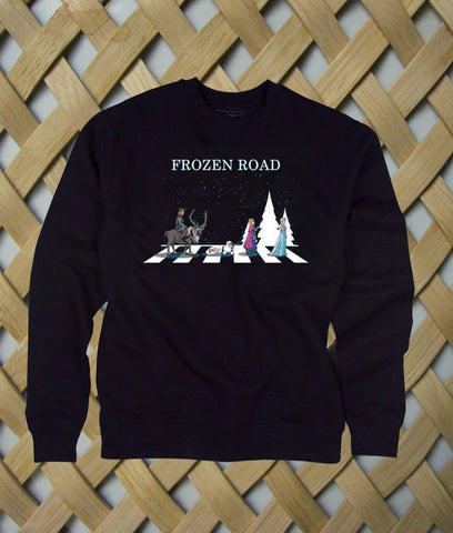 frozen road sweatshirt