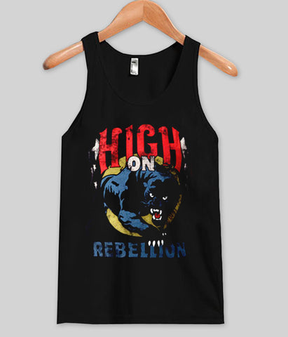 High on rebellion Tank top
