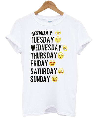 monday tuesday tshirt