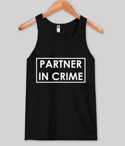 partner in crime tank top